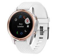 Силиконовый ремешок Primo для часов Garmin Fenix 5S / 5S Plus / 6S - White