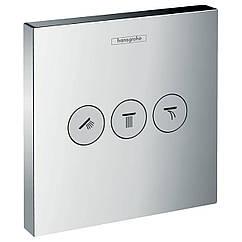SHOWER Select запорнопереключающее устройство на 3 потребителя