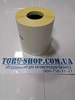 Термоэтикетка Эко 100х99 (500 шт. в рулоне) втулка 41мм, фото 1