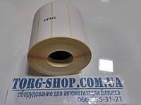 Термоэтикетка Эко 90х25 (2000 шт. в рулоне) втулка 41мм, фото 1