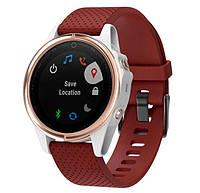 Силиконовый ремешок Primo для часов Garmin Fenix 5S / 5S Plus / 6S - Red