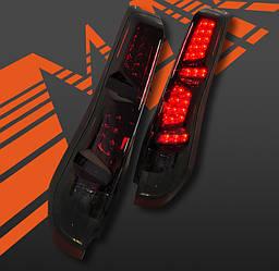 Фонари Nissan X-trail T31 (07-11) тюнинг Led оптика (тонированные)