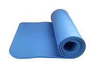 Коврик для йоги и фитнеса Power System  PS-4017 FITNESS-YOGA MAT Blue, фото 1