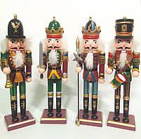 Набор винтажных деревянных кукол Щелкунчик 4шт