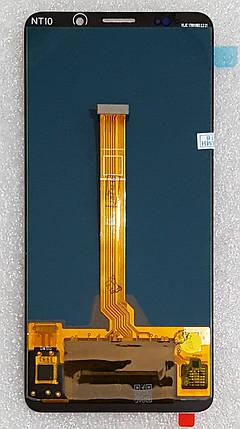Модуль (сенсор + дисплей LCD) для Huawei MATE 10 Pro (BLA-L29/BLA-L09) золотий, фото 2