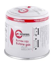 Картридж с газом бутан сменный 190 г INTERTOOL GB-0050
