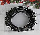 Обручи для волос Корона в белых стразах 12 шт/уп, фото 4