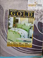 Постельное белье Gold сатин полуторное