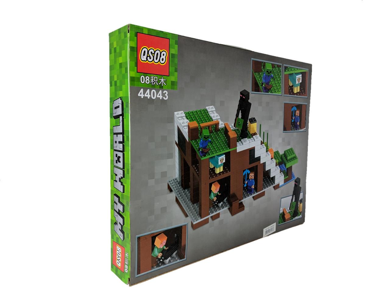 Конструктор My World 576 дет. ( копия Minecraft) 44043