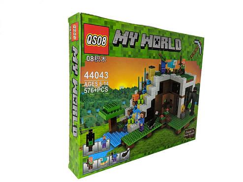 Конструктор My World 576 дет. ( копия Minecraft) 44043, фото 2