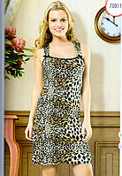 "Ночная сорочка (рубашка), домашнее платье hmd 70011 ""Леопард"""