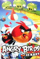 Карты детские (36 шт.) Angry Birds