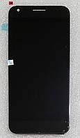 Модуль (сенсор+дисплей) для HTC M1 Google Pixel XL чорний
