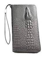 Портмане ,гаманець, клатч Baellery ALLIGATOR Крокодил Коричневий., фото 1