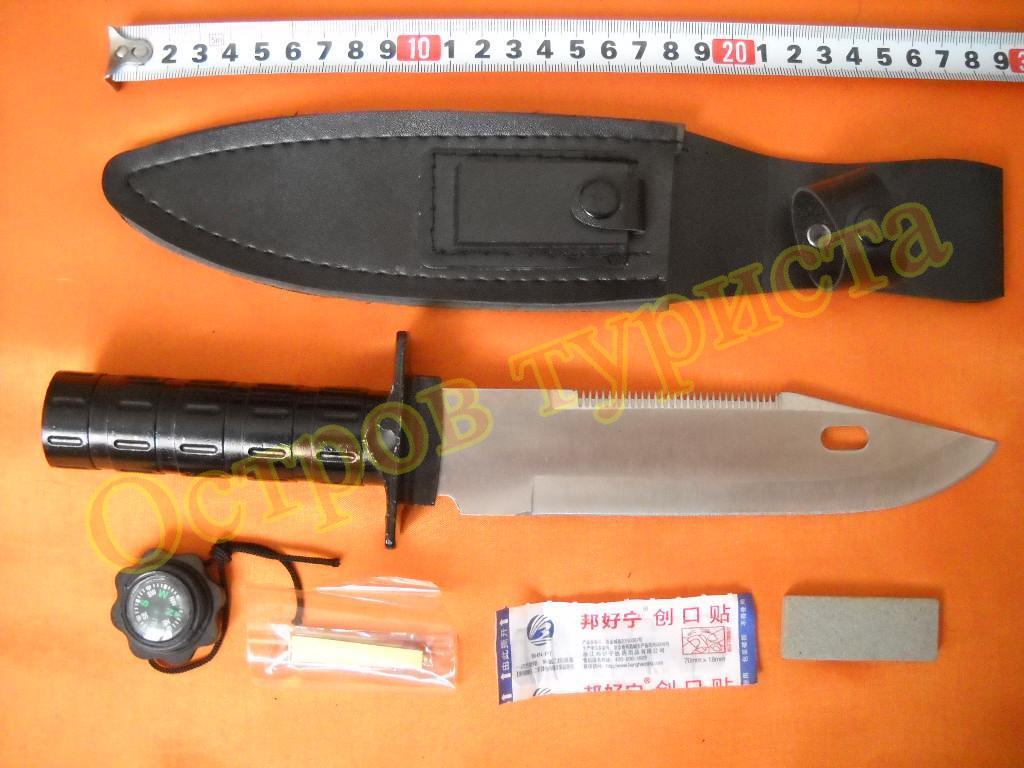 Нож для выживания НК5698 с документами ножнами