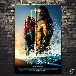 Постер Аквамен, Aquaman (2018). Размер 60x40см (A2). Глянцевая бумага