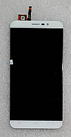 Модуль (дисплей+сенсор) для Cubot Note S білий