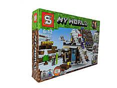 Конструктор My World 447 дет. ( копия Minecraft) 1062