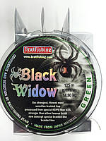 Шнур BLACK WIDOW 125 m зеленый