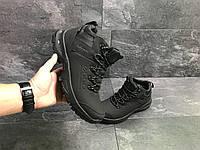 Мужские зимние кроссовки Ecco 6836 черные, фото 1