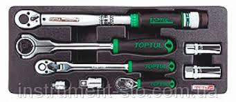 Набор инструмента комбинированного 8 ед. (ложем) GCAT0803 (Toptul, Тайвань)