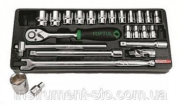 """Набор инструмента  1/2""""  24ед. (в ложементе) GCAT2402 (Toptul, Тайвань)"""