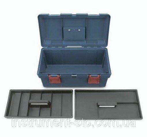Ящик для инструмента  3 секции (пластик)  445(L)x240(W)x202(H)mm TBAE0301 (Toptul, Тайвань)