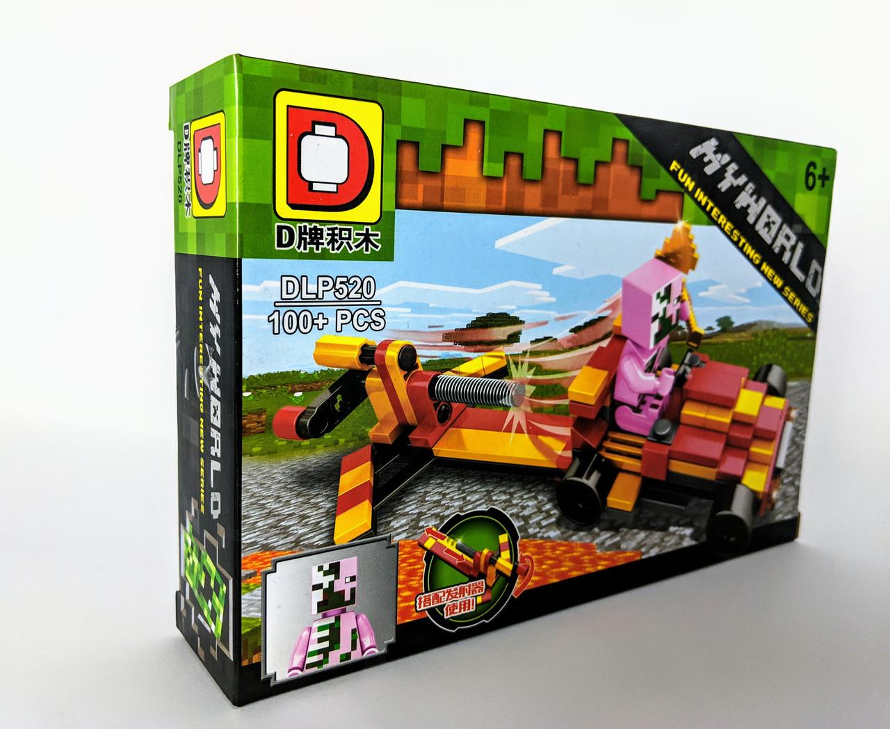 Конструктор My World 104 дет. ( копия Minecraft) DLP520-3