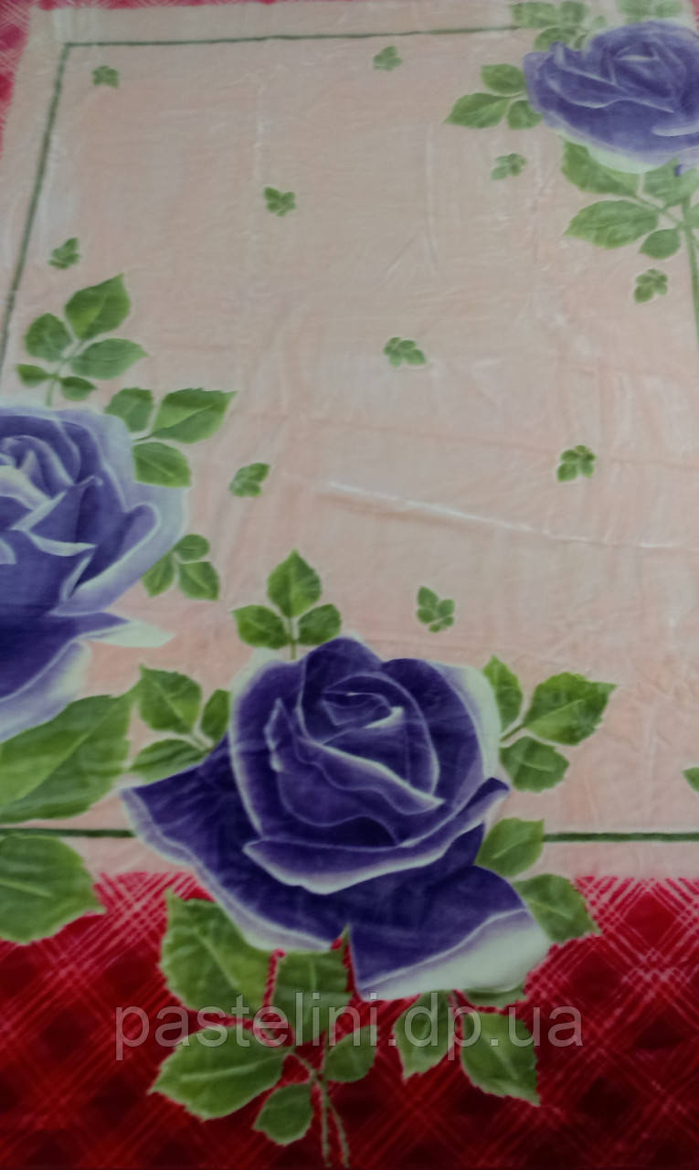 Плед акриловый Mink  855 Роза красный 220х240