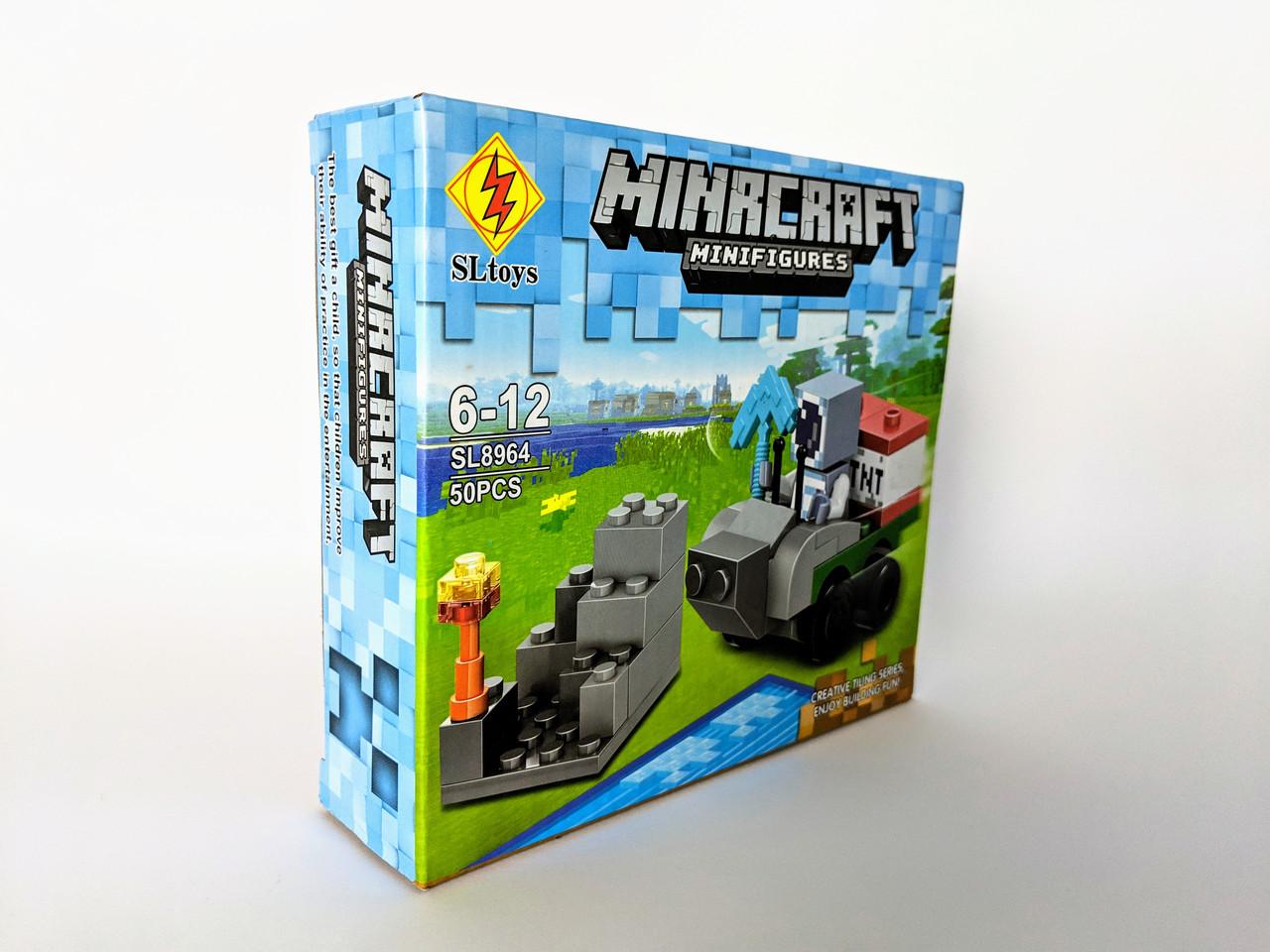 Конструктор My World 50 дет. ( копия Minecraft) SL8964-3