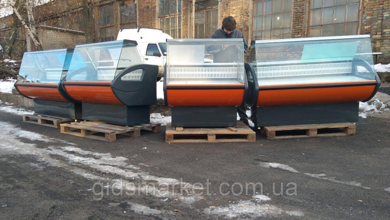Витрины холодильные универсальные Росс Rimini 1,1 м. 1,3 м.  б/у. гастрономическая витрина бу.
