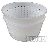 """Форма для приготовлени сыра 0,65 литра Ø125 мм пластиковая """"ЧП КВВ"""" + Видеообзор, фото 1"""