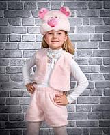 Новогодний костюм для девочек Хрюша (поросенок) р. от 2-6 лет