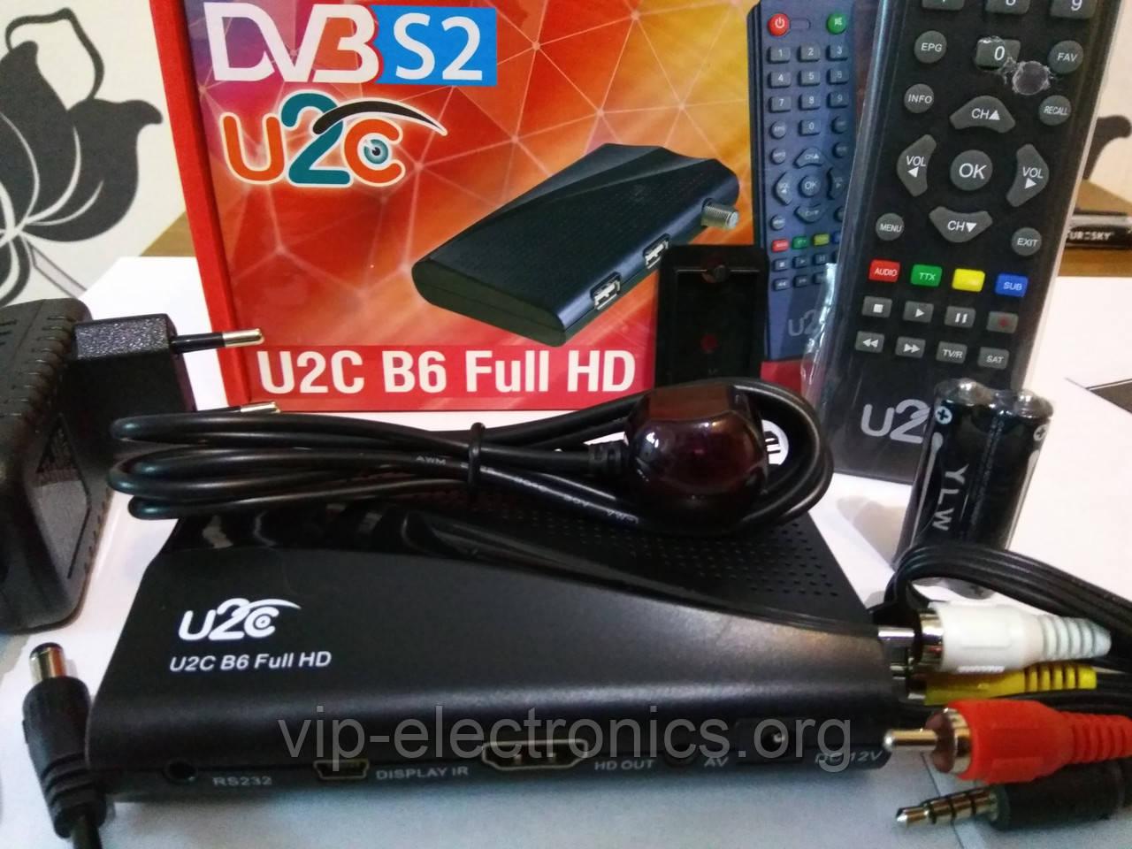 Тюнер UCLAN DVB-S HD IPTV S2 Denys H.265