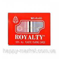 "Карты ""Royalty"" 100% картон, одна колода (2 сорт)"