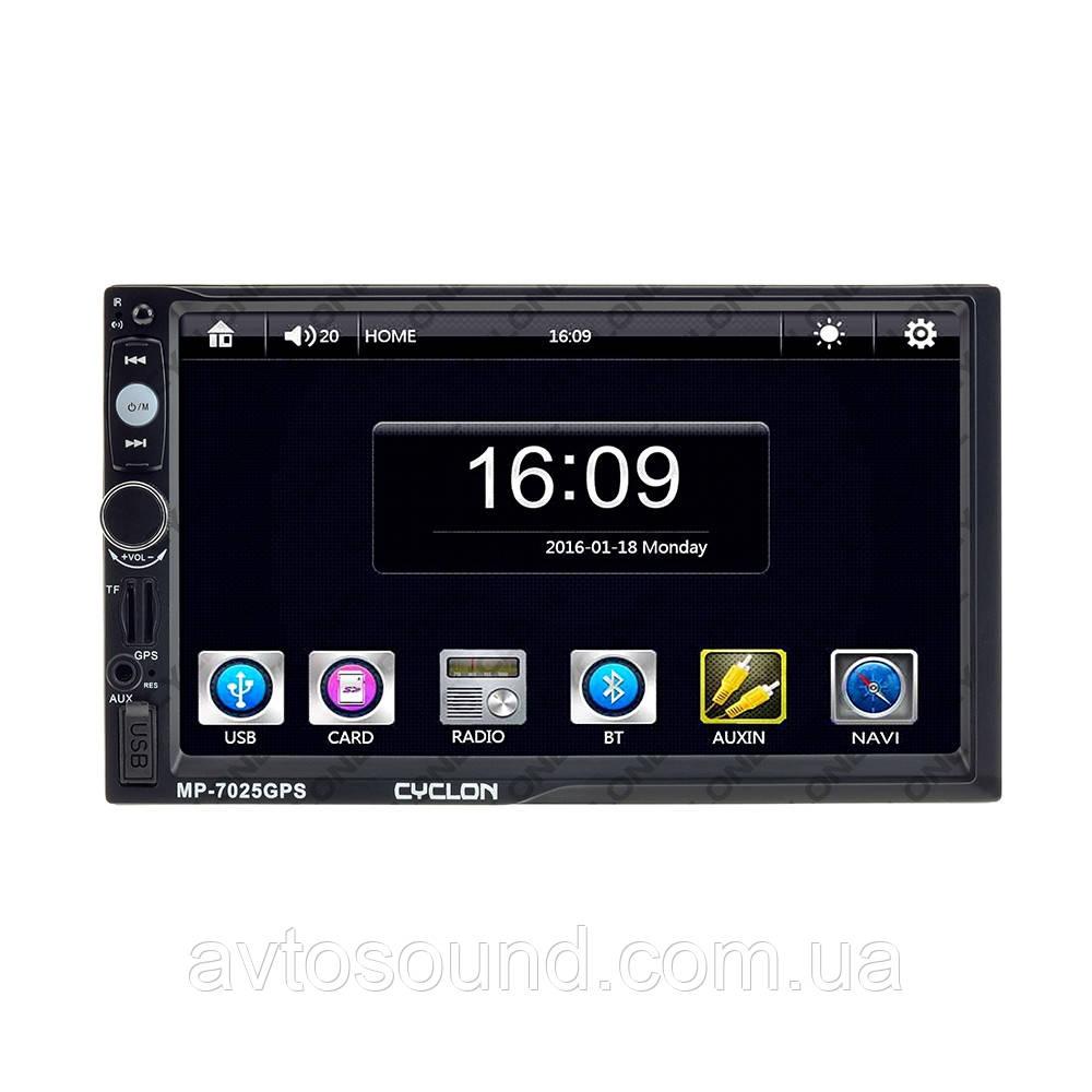 Автомагнитола Cyclon MP-7025 GPS, фото 1