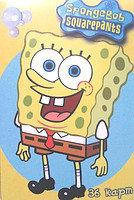 Карты детские (54 шт.) SpongeBob (стандартный размер)