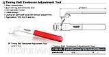 Ключ для регулировки ролика натяжителя ремня (VW,AUDI) JDBP1703 (Toptul, Тайвань), фото 2