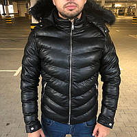 Parka Philipp Plein Michelin with Cape Black, фото 1