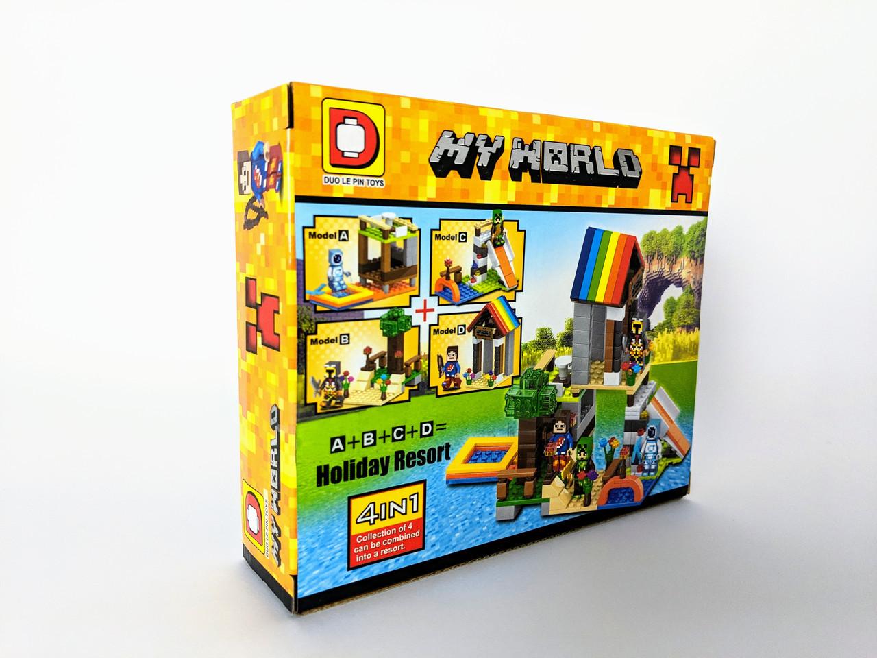 Конструктор My World 79 дет. ( копия Minecraft) NO.DLP507D