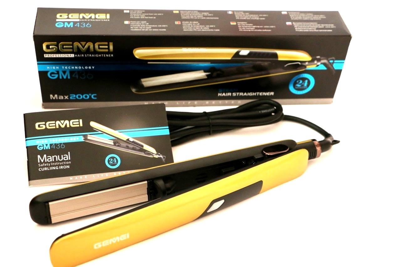 Прасочка для волосся Gemei Gm-436 з парою