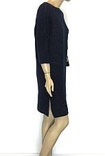 Плаття вязане з люрексом оверсайз Binka 1604 , фото 2