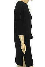 Плаття вязане з люрексом оверсайз Binka 1604 , фото 3