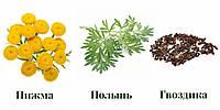 110грам, Тройчатка протипаразитна (Пижмо, Гвоздика, Полинь гірка)