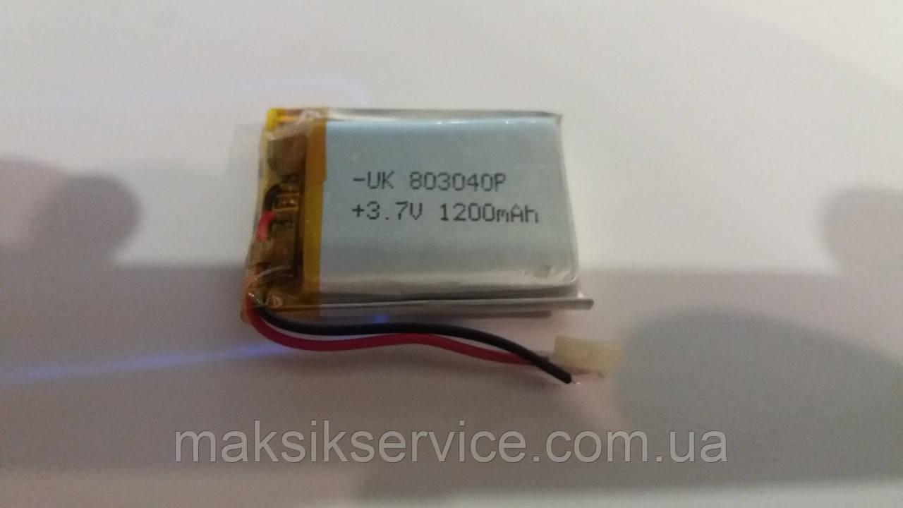 Аккумулятор China  803040Р 1200mAh (40х30х8мм)
