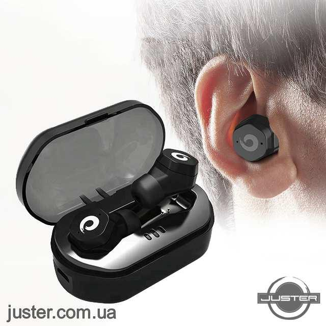 Премиум Bluetooth Наушники TWS-F8 Беспроводные Водонепроницаемые с пауербанком