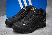 Зимние кроссовки Adidas 465, черные (30243),  [  43 (последняя пара)  ]