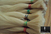 Волосы Славянские  Блонд №613   Наращивание Парики