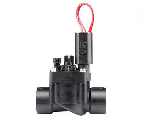 Электромагнитный клапан Hunter PGV-101G-B 1 дюйм пластиковый для полива, фото 2