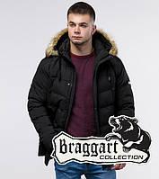 Braggart Youth   Молодежная зимняя куртка 25370 черная
